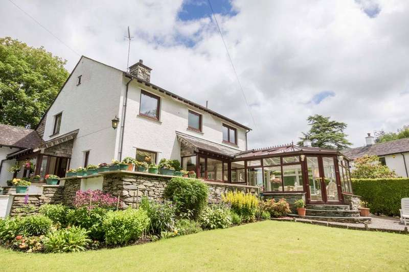 4 Bedrooms Detached House for sale in Beckside, Rayrigg Road, Windermere, Cumbria