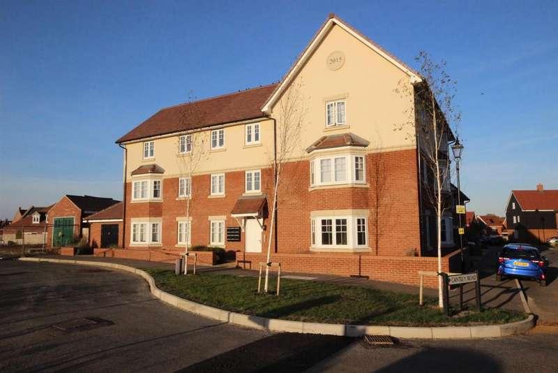 2 Bedrooms Apartment Flat for sale in Danegeld Avenue, Great Denham, Bedford