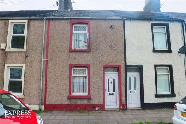 3 Bedrooms Terraced House for sale in Mountain View, Harrington, Workington, Cumbria