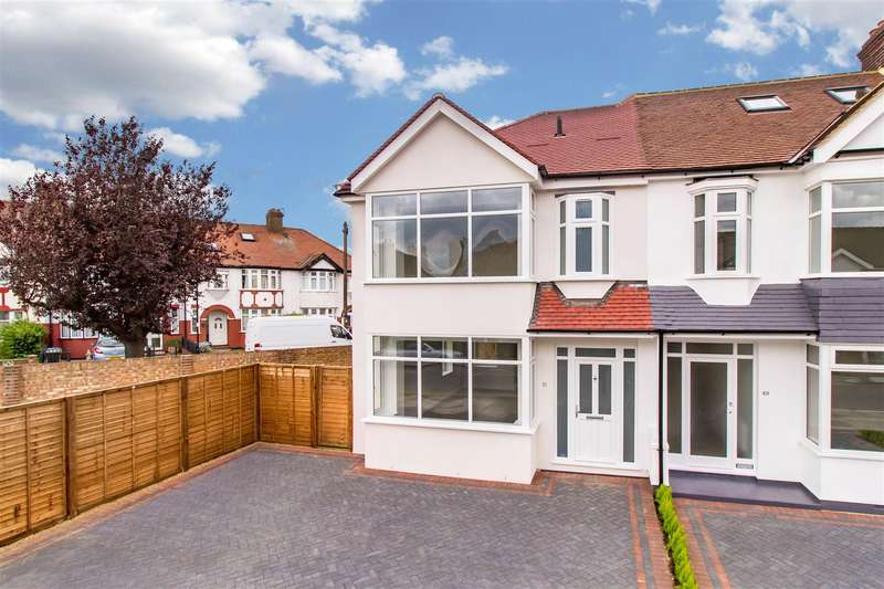 3 Bedrooms End Of Terrace House for sale in Kenmare Gardens, Palmers Green, London N13