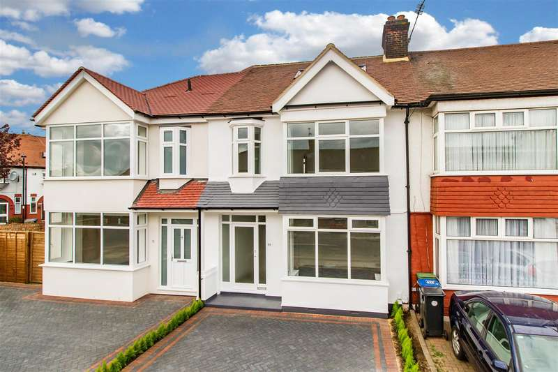 4 Bedrooms Terraced House for sale in Kenmare Gardens, Palmers Green, London N13