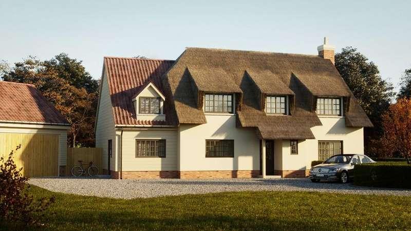 5 Bedrooms Detached House for sale in Ginger Bread Cottage, Barley