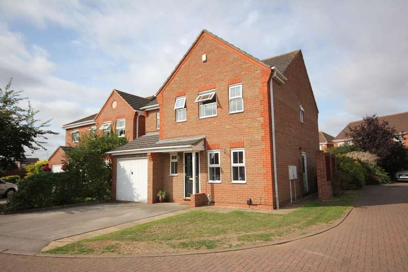 4 Bedrooms Detached House for sale in Overlooking Country Park, Melton Mowbray
