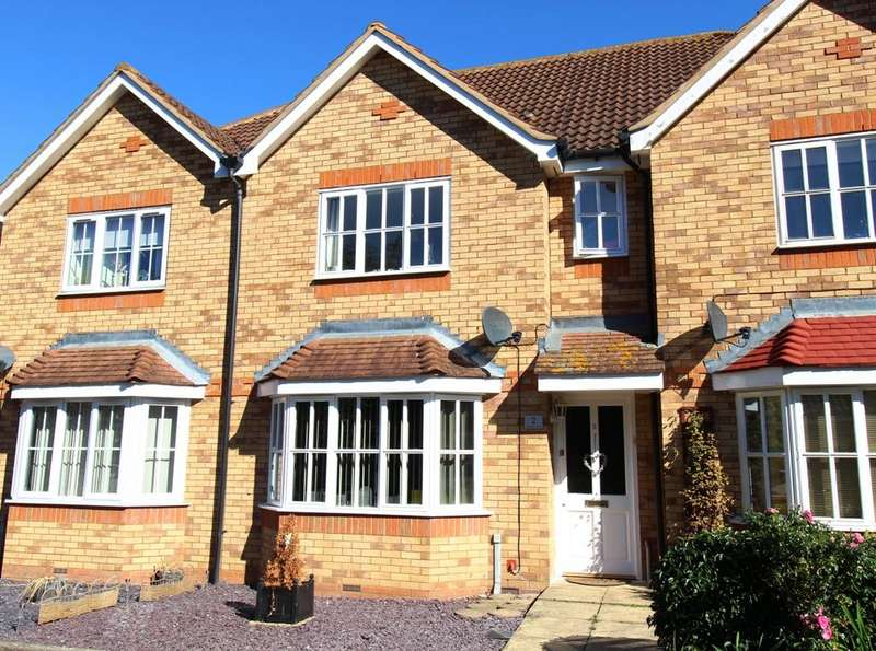 3 Bedrooms Terraced House for sale in Meadow Close, Beeston SG19