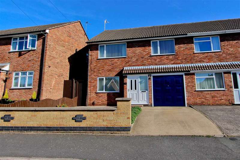 3 Bedrooms Semi Detached House for sale in George Street, Anstey