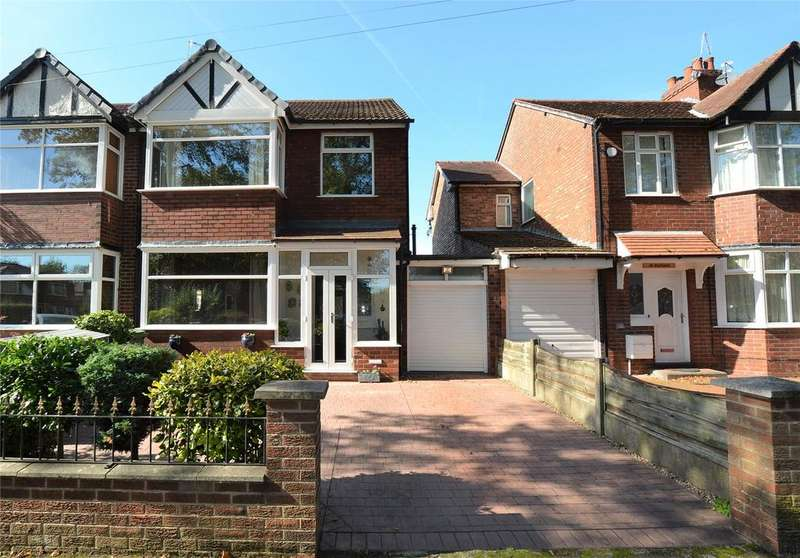 3 Bedrooms Semi Detached House for sale in Southgate, Urmston, Manchester, M41