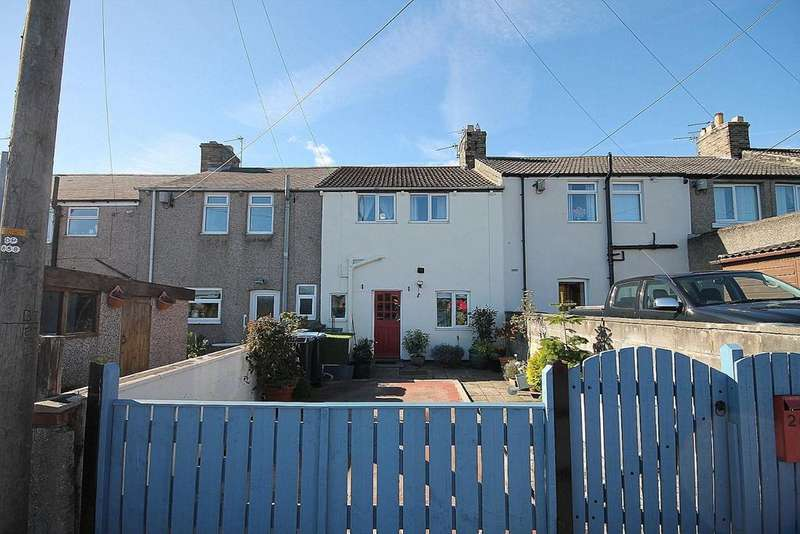 2 Bedrooms Terraced House for sale in Greenhead, Crook