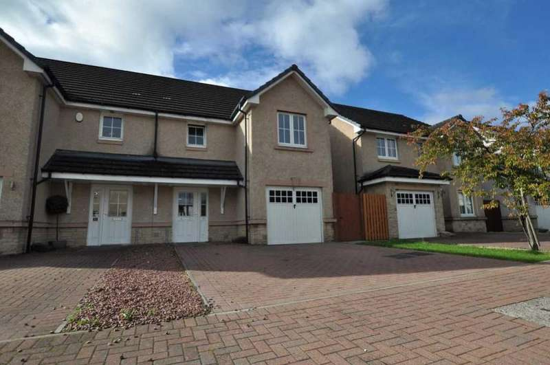 3 Bedrooms Semi Detached House for sale in 70 Sandpiper Meadow, Alloa, FK10 1QU, UK