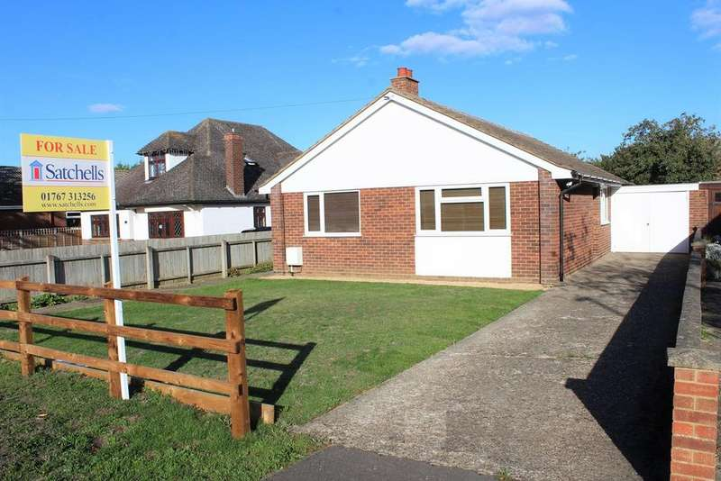 3 Bedrooms Detached Bungalow for sale in Hitchin Road, Upper Caldecote, Biggleswade, SG18