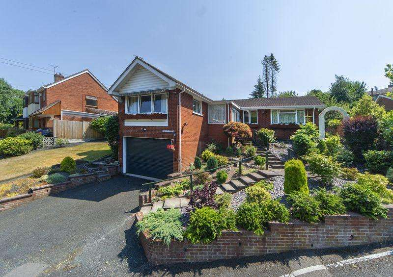4 Bedrooms Detached Bungalow for sale in 1 Quarry Road, Broseley Wood, Shropshire.
