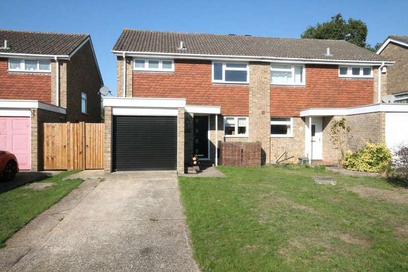 3 Bedrooms Semi Detached House for sale in Mersey Way, Thatcham, RG18