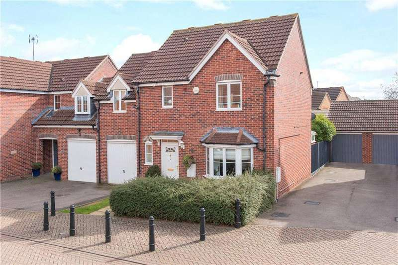 4 Bedrooms Semi Detached House for sale in Spriggs Close, Clapham, Bedford, Bedfordshire