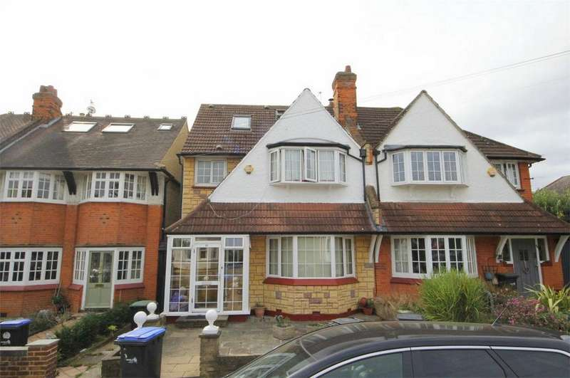 5 Bedrooms Semi Detached House for sale in Arundel Gardens, London