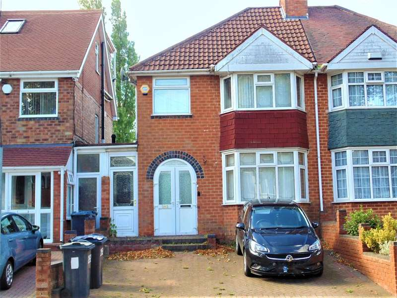 3 Bedrooms Semi Detached House for sale in Perrywood Road, Great Barr, Birmingham B42
