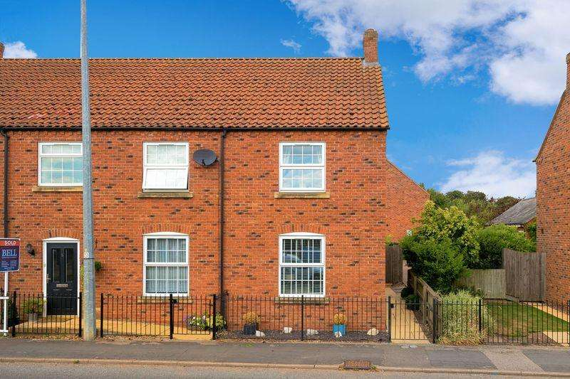 2 Bedrooms End Of Terrace House for sale in Evison Way, Mareham Le Fen