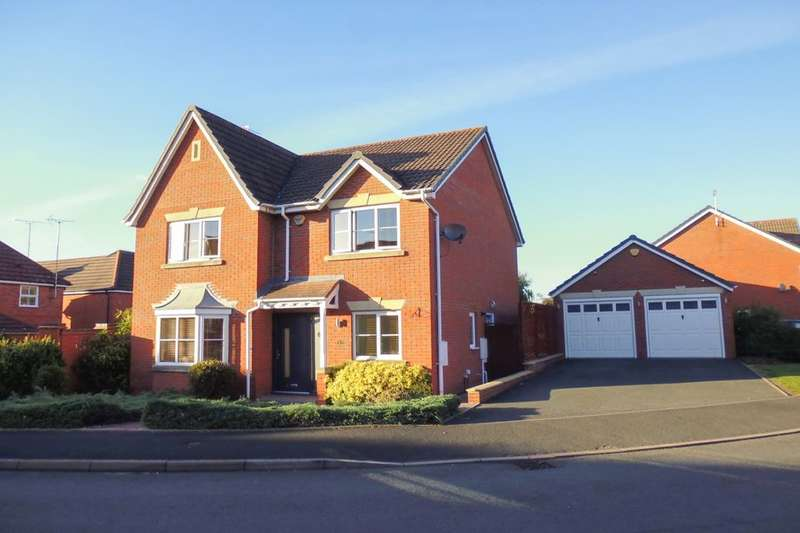 4 Bedrooms Detached House for sale in Brecon Avenue, Worcester, WR4