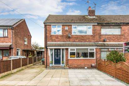 3 Bedrooms Semi Detached House for sale in Belvedere Avenue, Atherton, Manchester, Greater Manchester, M46