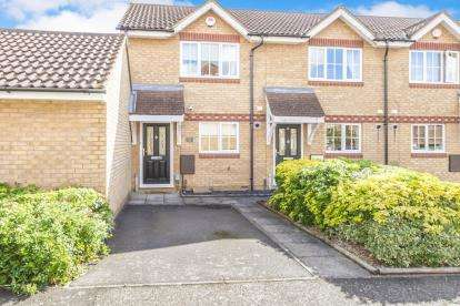 2 Bedrooms End Of Terrace House for sale in Dorsey Drive, Bedford, Bedfordshire, .