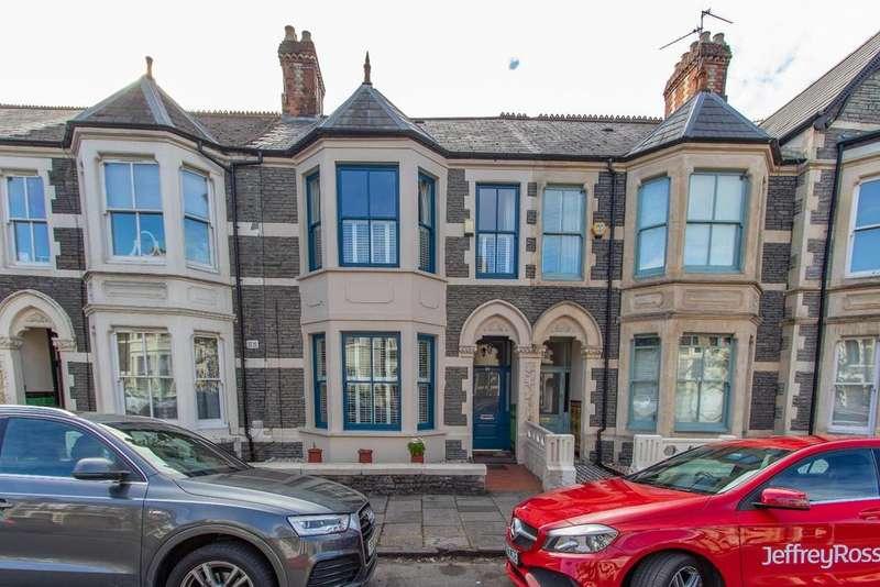 4 Bedrooms Terraced House for sale in Hamilton Street, Pontcanna, Cardiff