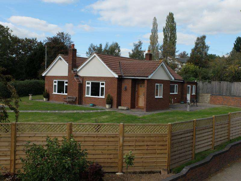 4 Bedrooms Bungalow for sale in The Gables, Ochre Hill, Wellington Heath, Ledbury, Herefordshire, HR8 1LZ