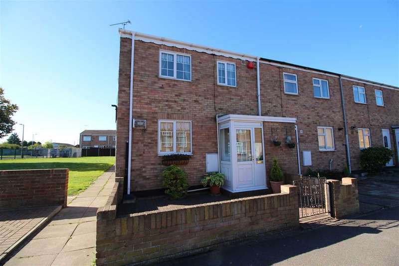 3 Bedrooms End Of Terrace House for sale in Monarch Close