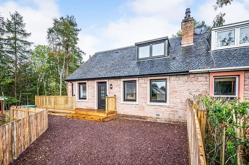 3 Bedrooms Semi Detached House for sale in Tor View, Contin, Strathpeffer, IV14