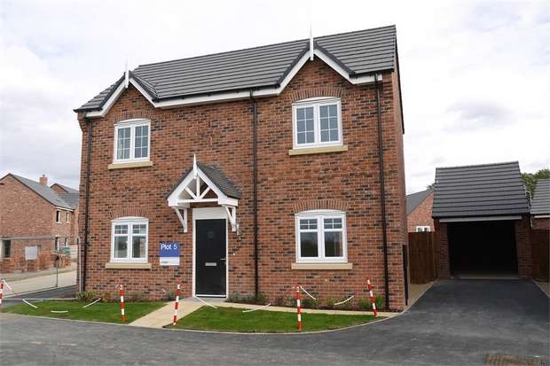 4 Bedrooms Detached House for sale in Centurion Place, Warwick Road, Kibworth Harcourt, Leicester
