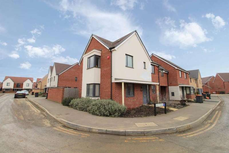 3 Bedrooms Link Detached House for sale in Goff Place, Wootton, Bedfordshire, MK43