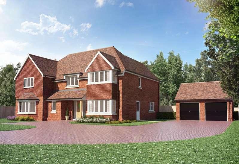 5 Bedrooms Detached House for sale in Helmsley Park, Bagshot Road, Chobham