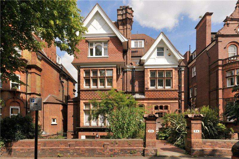 2 Bedrooms Flat for sale in Eton Avenue, Belsize Park, London, NW3
