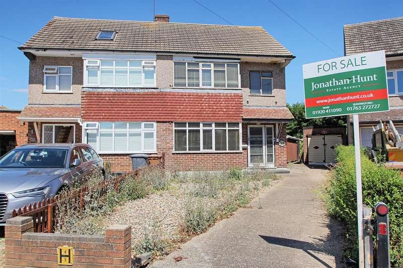 3 Bedrooms Semi Detached House for sale in GROVE ROAD, WARE - CHAIN FREE