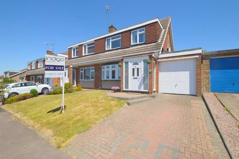 3 Bedrooms Semi Detached House for sale in Turnpike Drive, Warden Hills, Luton, LU3 3RQ