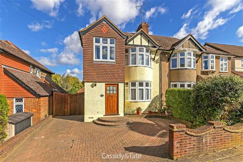 4 Bedrooms Semi Detached House for sale in Seymour Road, St Albans, Hertfordshire