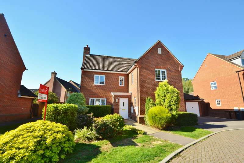 4 Bedrooms Detached House for sale in North Baddesley