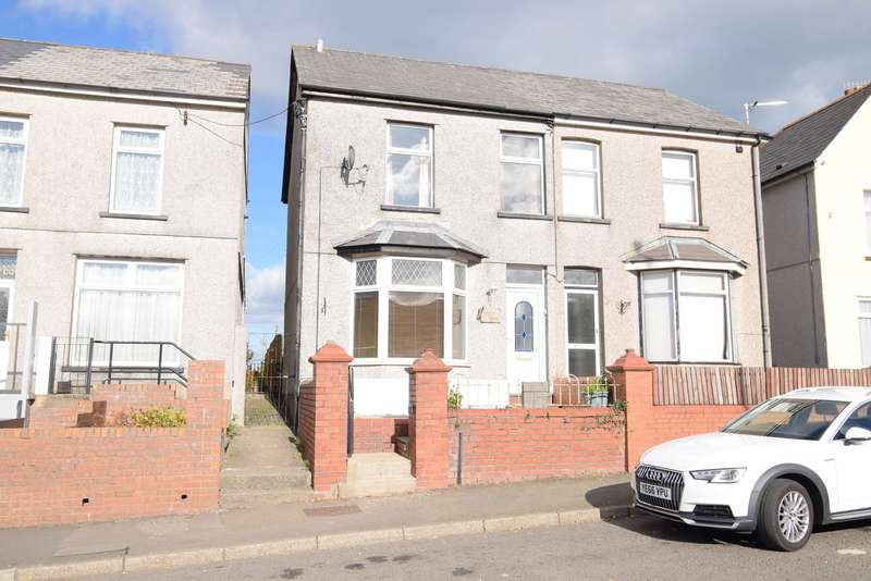 3 Bedrooms Semi Detached House for sale in Mount Pleasant Road, Pontnewydd, Cwmbran, NP44