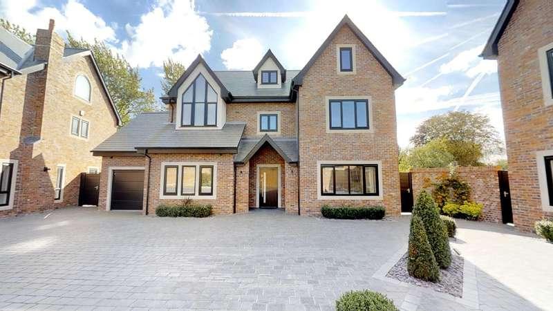 5 Bedrooms Detached House for sale in Hob Hey Lane, Culcheth, Warrington, WA3