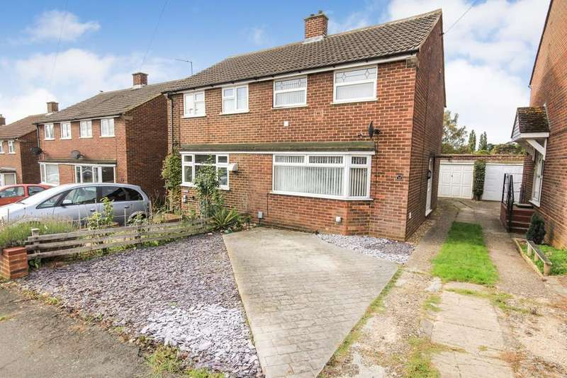 3 Bedrooms Semi Detached House for sale in Townfield Road, Flitwick, MK45
