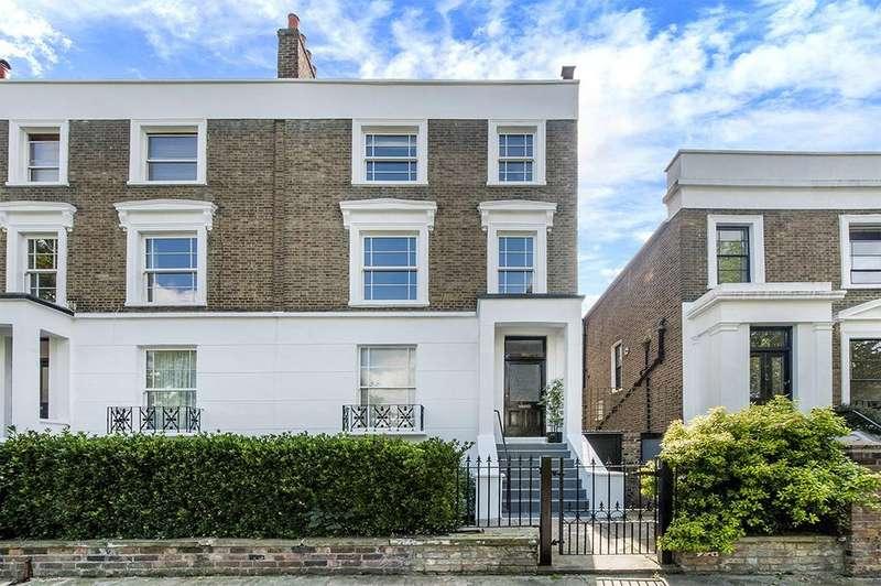 4 Bedrooms Maisonette Flat for sale in Rochester Terrace, Camden, NW1