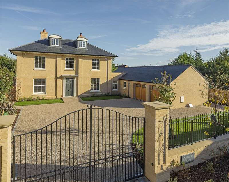 5 Bedrooms Detached House for sale in Edgerton House, The Pastures, The Pastures, Harston, Cambridge, CB22