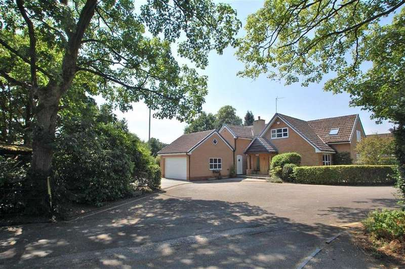 4 Bedrooms Detached House for sale in Harefield Drive, Wilmslow, Cheshire