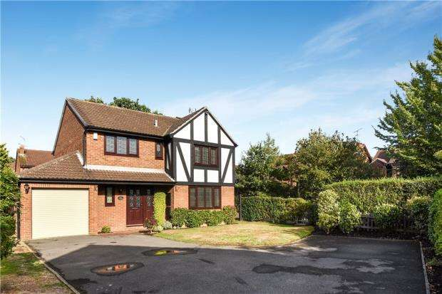 4 Bedrooms Detached House for sale in Somerville Close, Wokingham, Berkshire