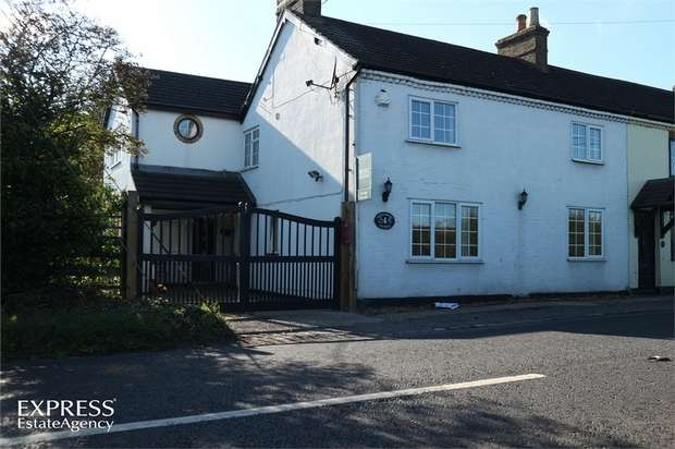 4 Bedrooms Semi Detached House for sale in Horton Road, Horton, Leighton Buzzard, Buckinghamshire