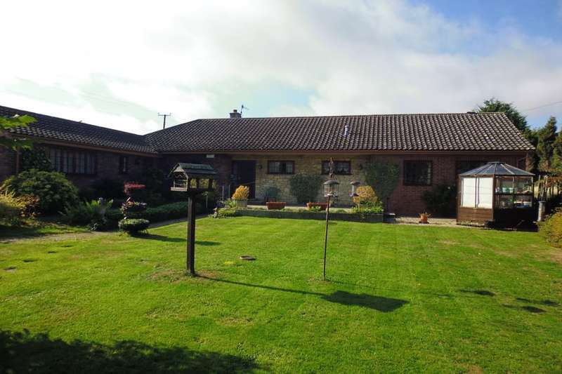 4 Bedrooms Detached Bungalow for sale in Stonehall Common, Kempsey, Worcester, WR5