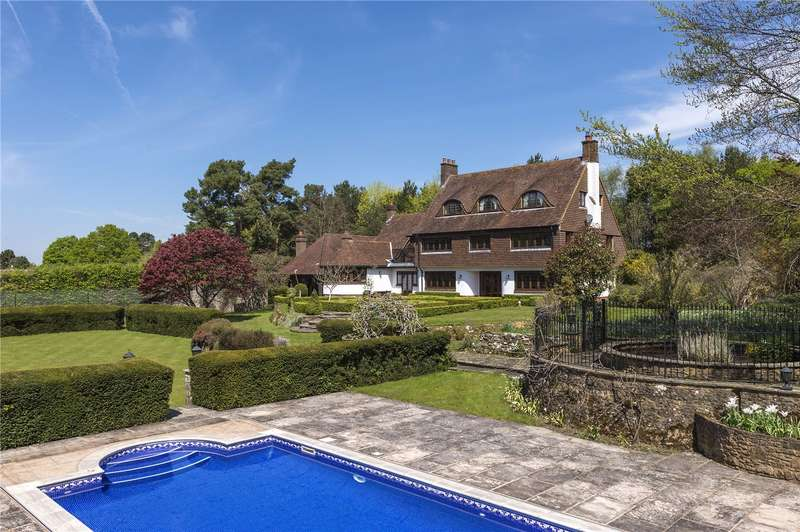 5 Bedrooms Detached House for sale in Sutton Place, Abinger Hammer, Dorking, Surrey, RH5