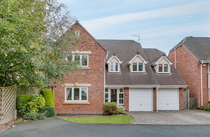 5 Bedrooms Detached House for sale in Southlands Court, Birchfield Road, Redditch, B97 4LX