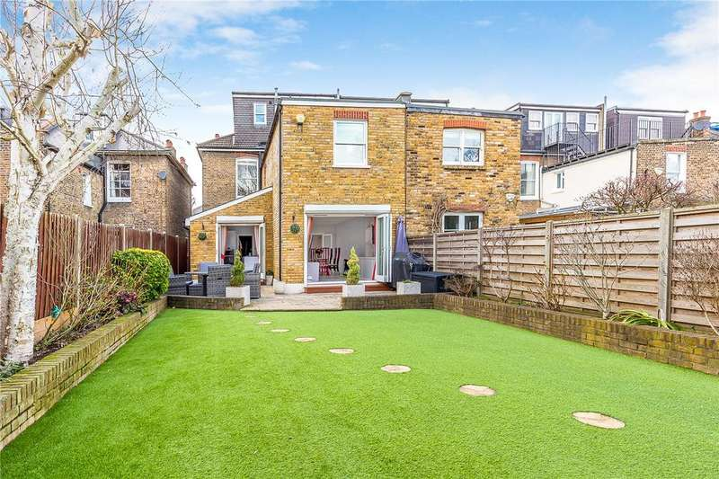 4 Bedrooms Semi Detached House for sale in Heathfield Gardens, Chiswick, London, W4