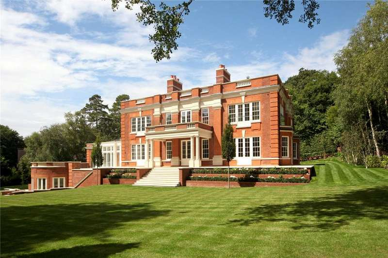 6 Bedrooms Detached House for sale in Yaffle Road, St. George's Hill, Weybridge, Surrey, KT13