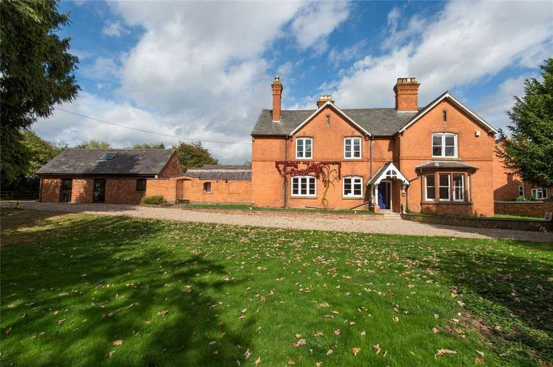 4 Bedrooms Detached House for sale in Pershore Road, Upton Snodsbury, Worcester, Worcestershire, WR7