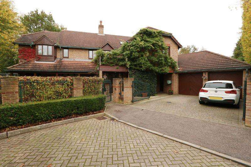 5 Bedrooms Detached House for sale in Ketelbey Nook, Milton Keynes