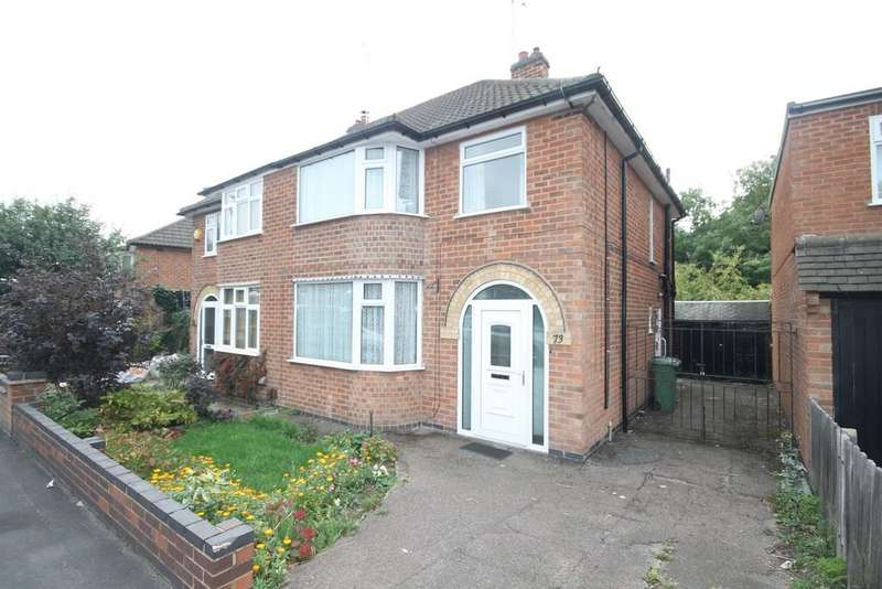 3 Bedrooms Semi Detached House for sale in Westover Road, Braunstone, Leicester, LE3